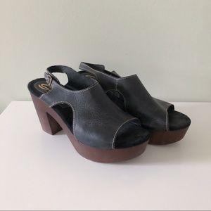 Sbicca platform sandals size 41